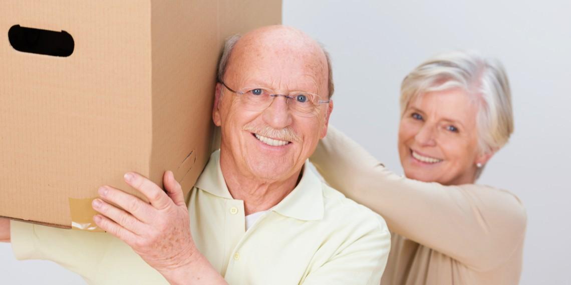 Aide au déménagement pour retraité